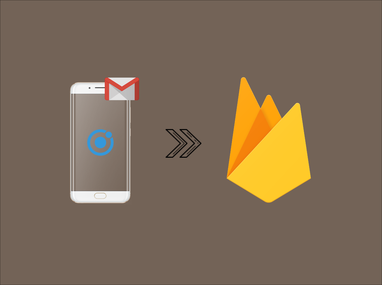Ionic firebase login registration with email authentication