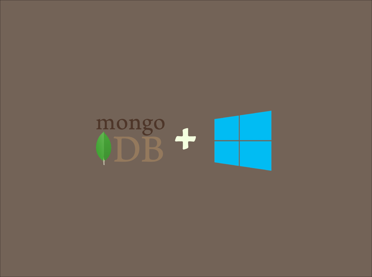 How to install and setup MongoDB on Windows